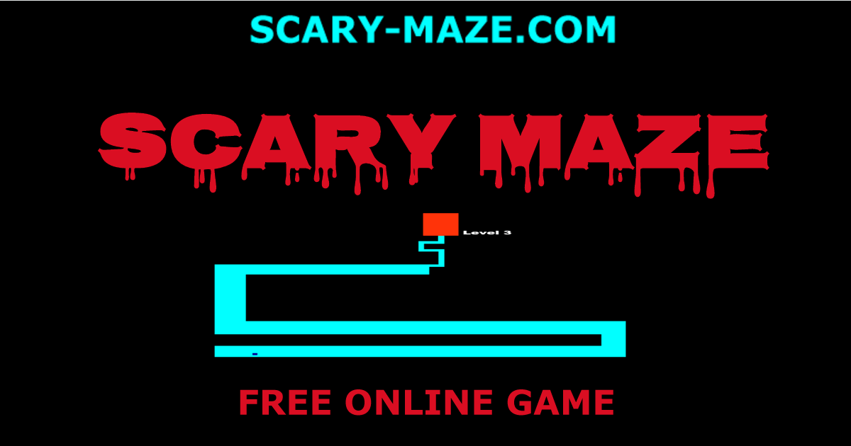 scary maze game